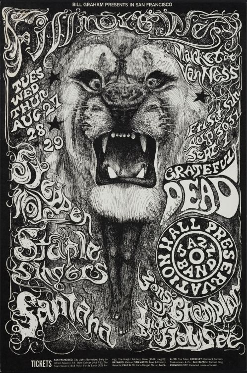 Favori Sex, Death, and Animals: The Art of the Rock Poster | Escape Into Life JX11