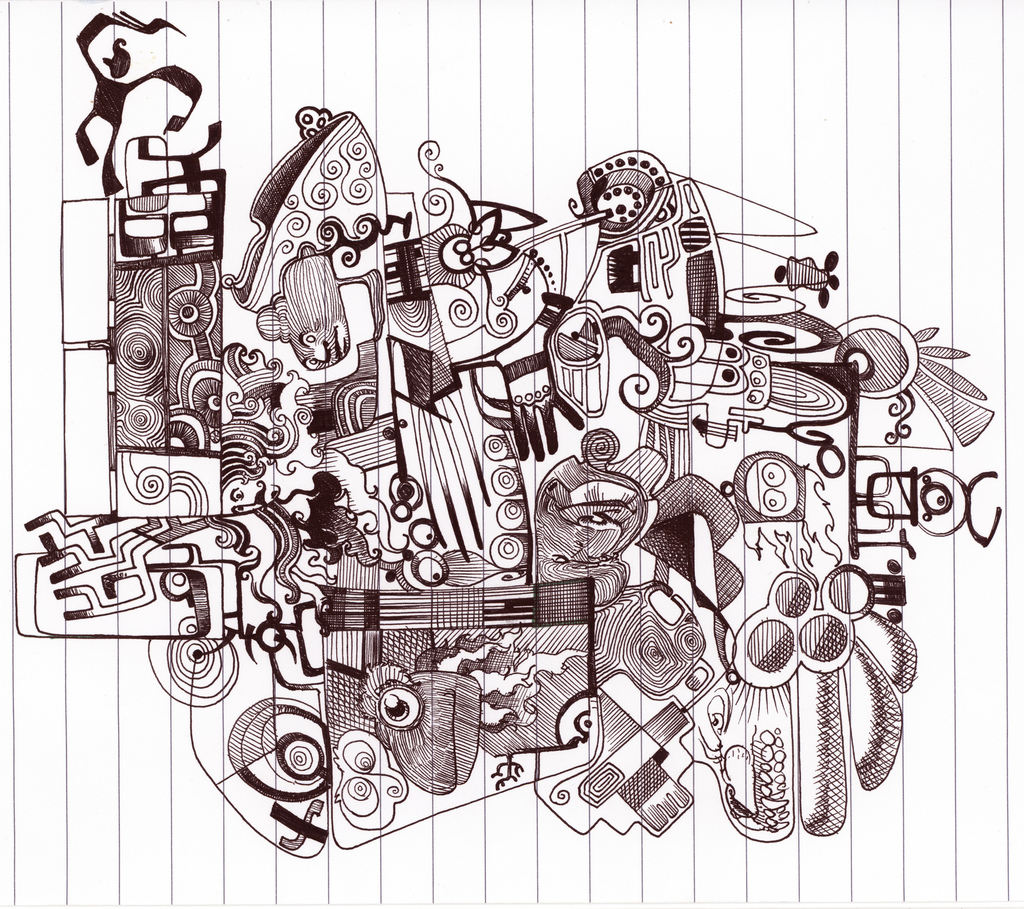 Celebrating the Art of the Doodle: 20 Awesome | Escape Into Life
