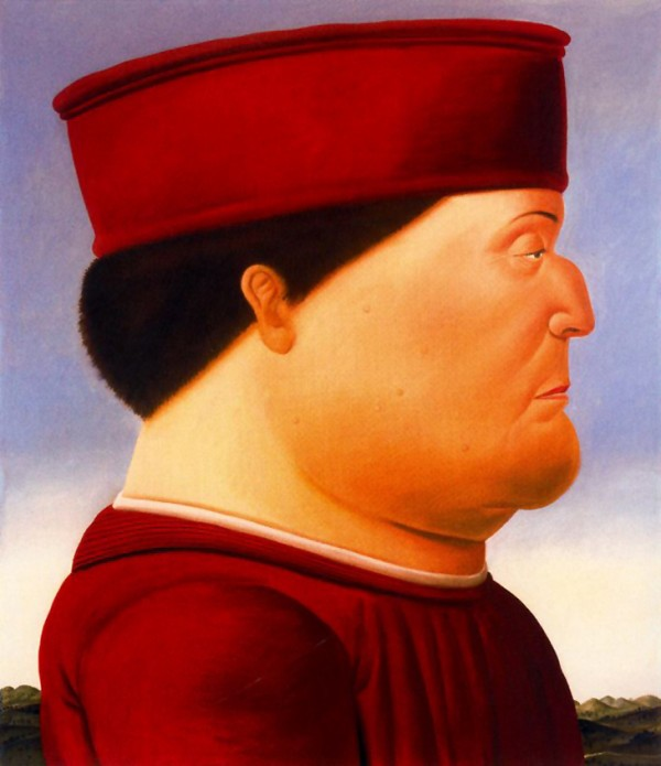 Fernando Botero After Piero della Francesca 1998