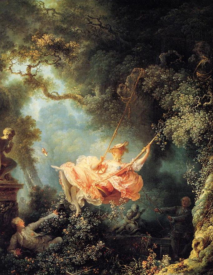 French rococo watteau boucher and fragonard escape for French rococo period