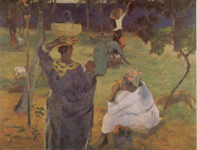 Paul Gauguin, Mango Gatherers. Martinique.1887