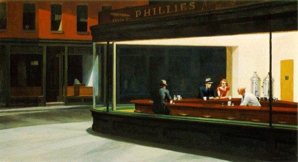 EdwardHopper-Nighthawks-1942