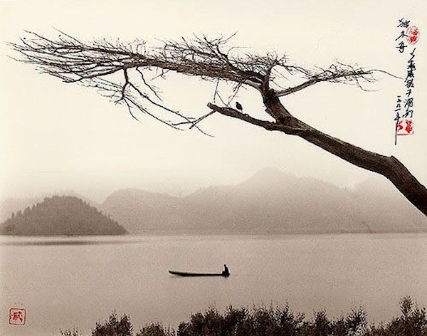 Solitary Wooden Boat