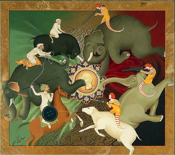 Saira Wasim Paintings