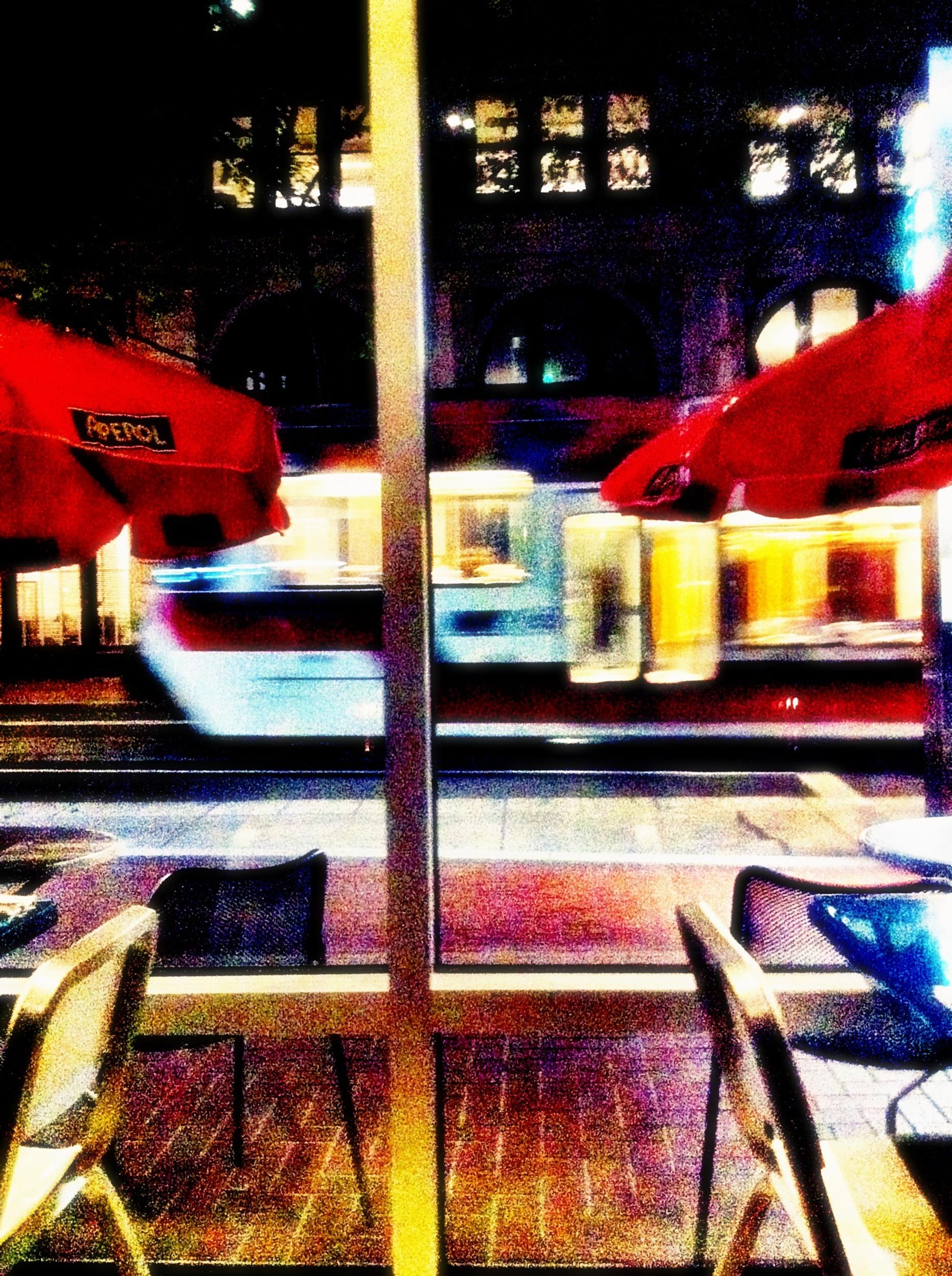 portland night tram