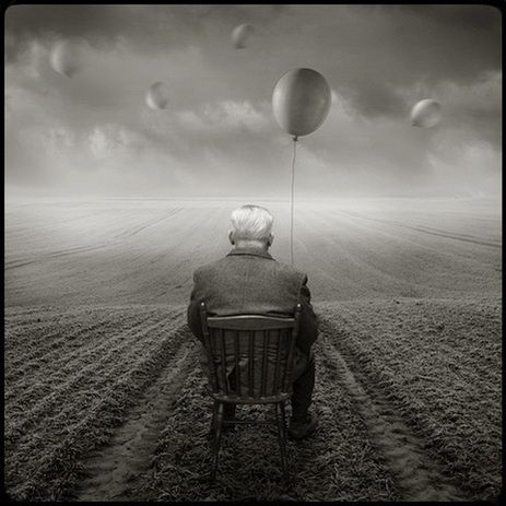 Michael Giedrojc, chair baloon
