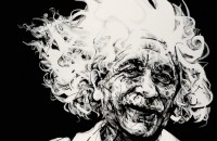 A. Einstein by Aaron Reichert