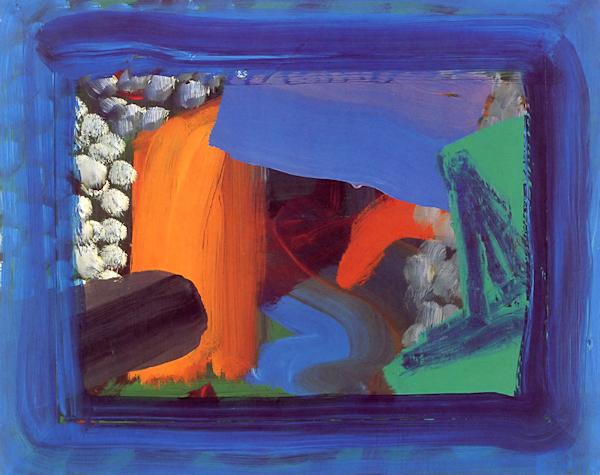 Pintura: Howard Hodgkin