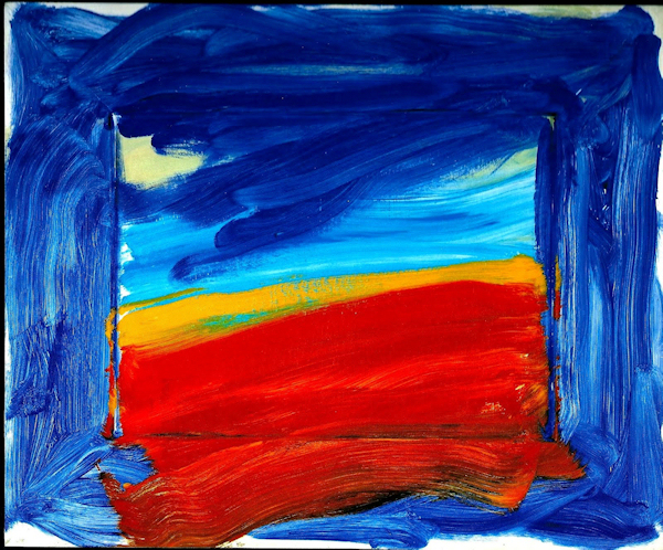 Pintura: Howard Hodgkin