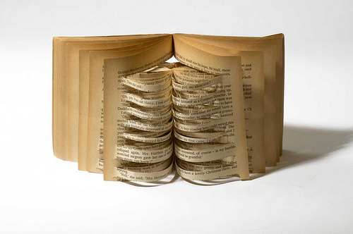 Samantha Huang, open book