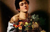 Caravaggio, Boy_with_a_Basket_of_Fruit-Caravaggio_(1593)
