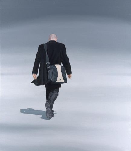 Nigel Cox, walking away