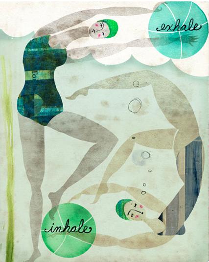 Andrea D'Aquino, Bathers