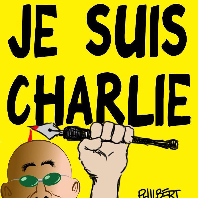 Phil Maish, Je suis Charlie