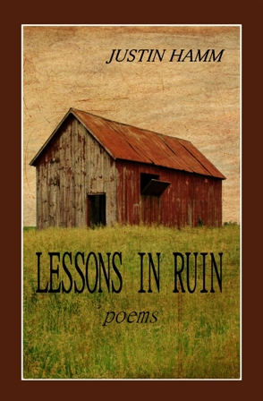 Justin Hamm, Lessons in Ruin book cover