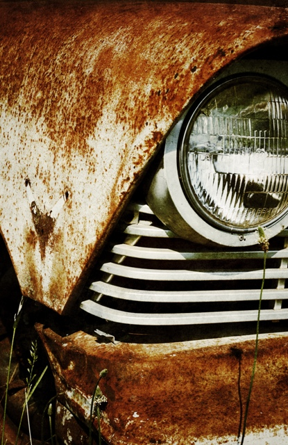 Justin Hamm, car 3315, headlight