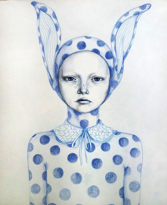 Lazarina Nedelcheva, sad bunny