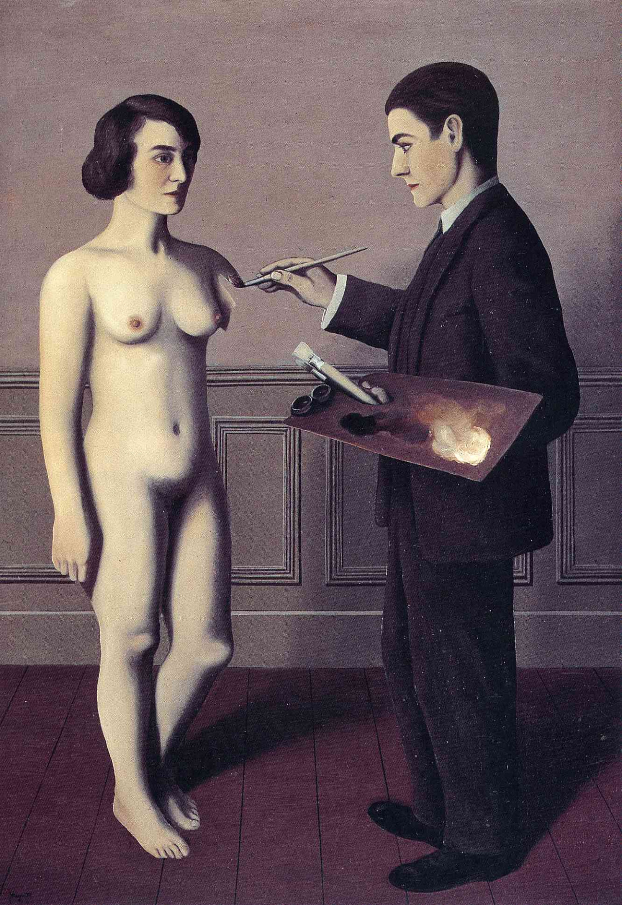 Magritte, attempting the impossible