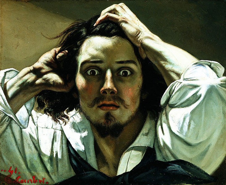 Gustave_Courbet, The Desperate Man