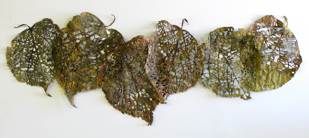 Linden Leaf Rag, full, 2010, Barbara Schneider