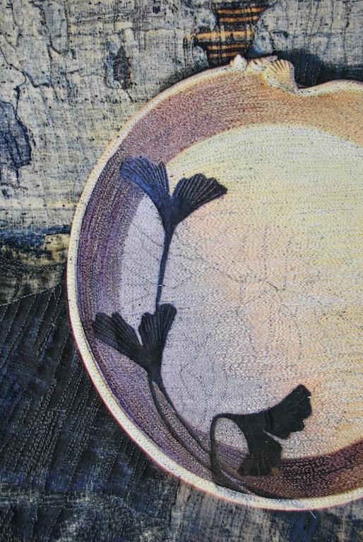 Still Life, GIngko Bowl, var. 2 detail 1 300 pixels